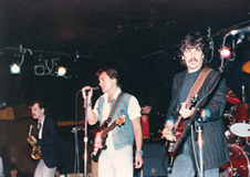 Keith Crossan with the Marty Balin Band, 1985